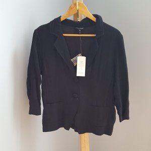 NWT Eileen Fisher Silk Crinkle Jacket
